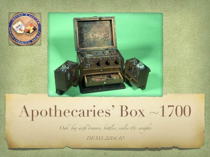 DEMS Apothecaries Box