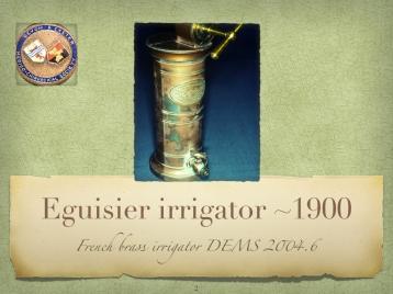 DEMS Irrigator