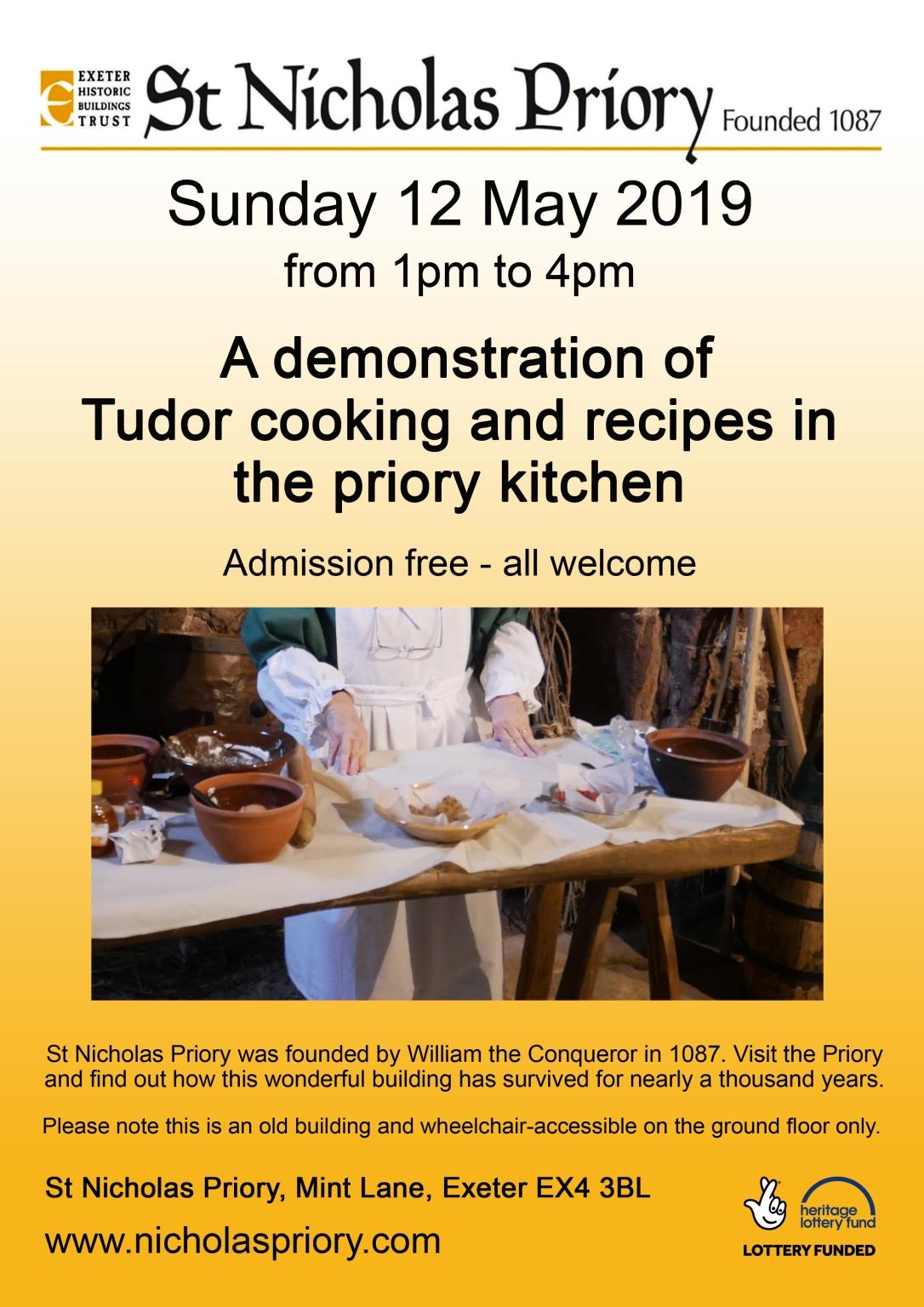 Tudor Cooking 12may19