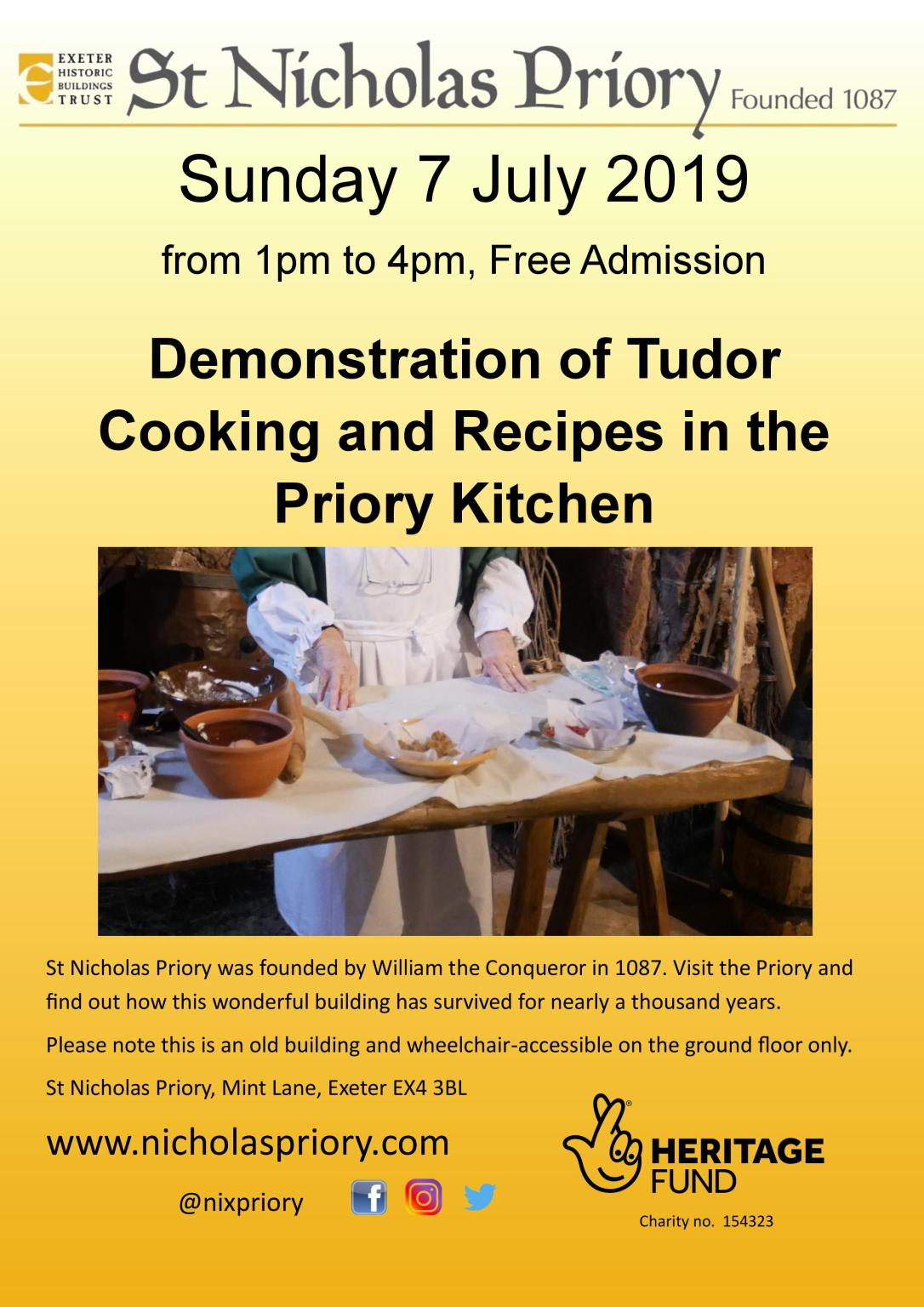 Tudor Cooking 07July19