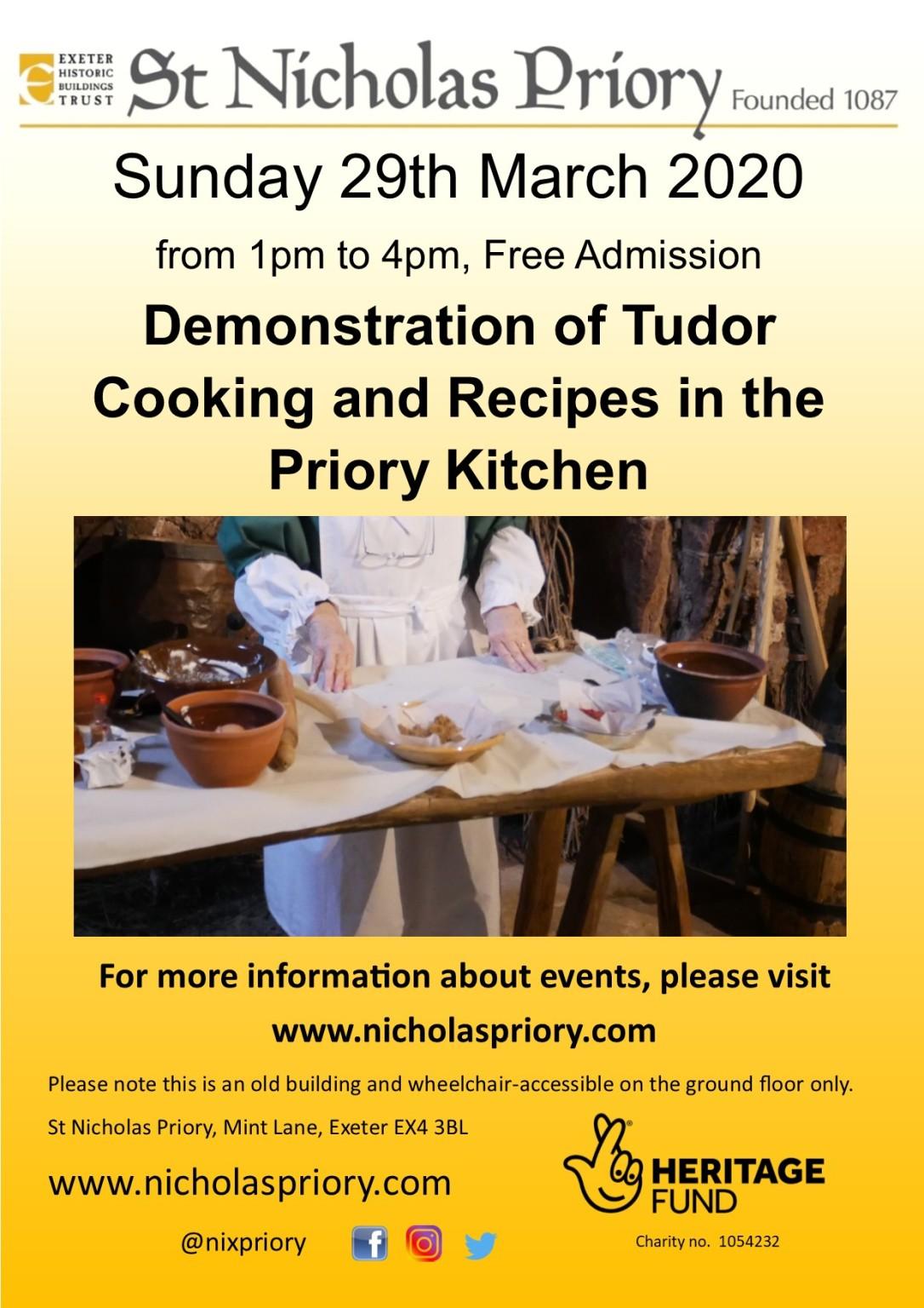 Tudor Cooking 29mar20