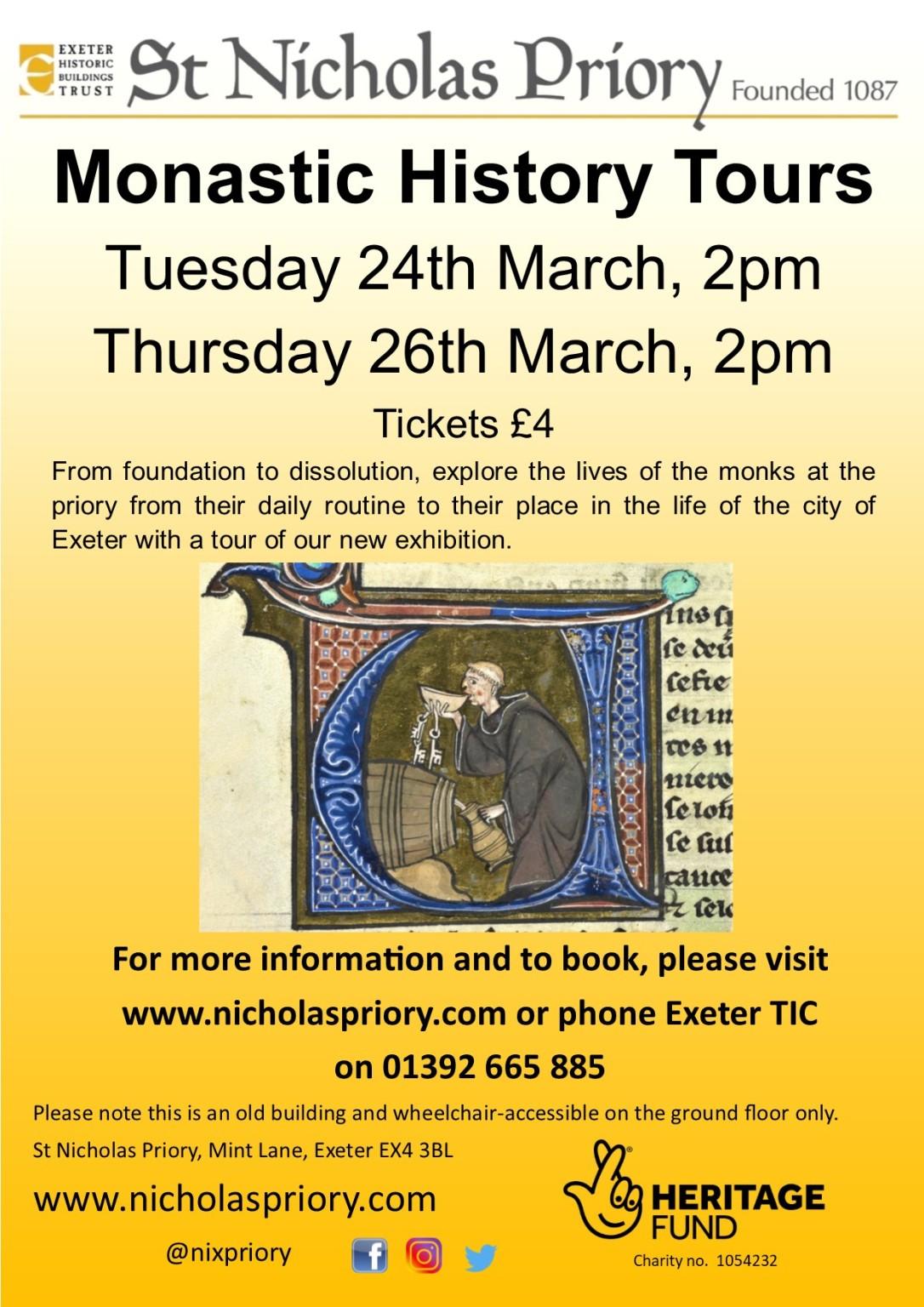 Monastic History Tours Mar20